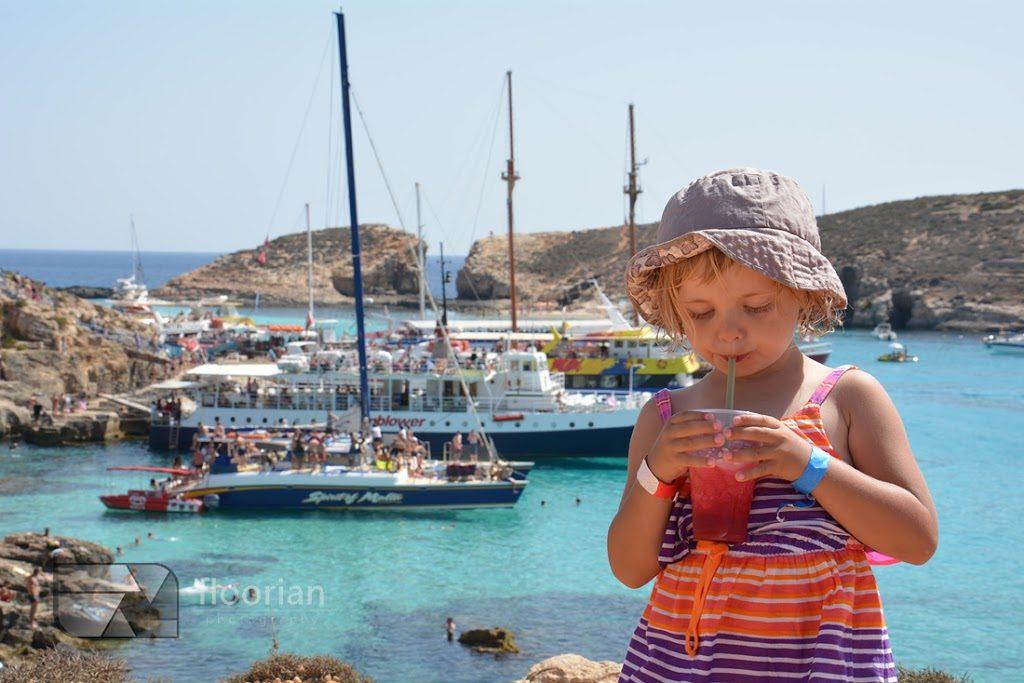 Blue Lagoon raj dla dzieci i największa atrakcja dla dzieci na Malcie. Malta z dziećmi - porady, informacje praktyczne