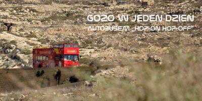 Zwiedzanie Gozo w 1 dzień autobusem Hop On Hop Off