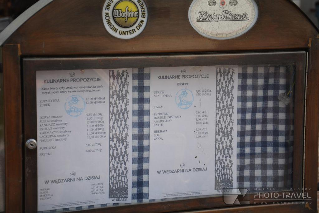 Port Uraz - Smażalnia - Co można zjeść na przystani w Urazie?