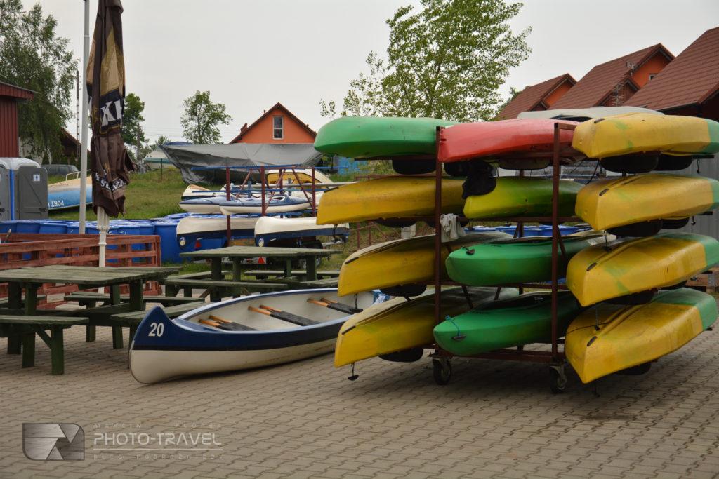 Wyporzyczalnia kajaków, łódek i sprzętu wodnego w Urazie