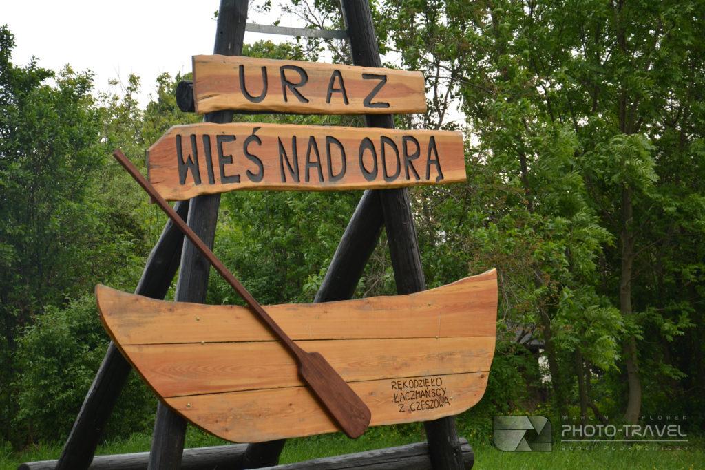 Uraz - wieś nad Odrą