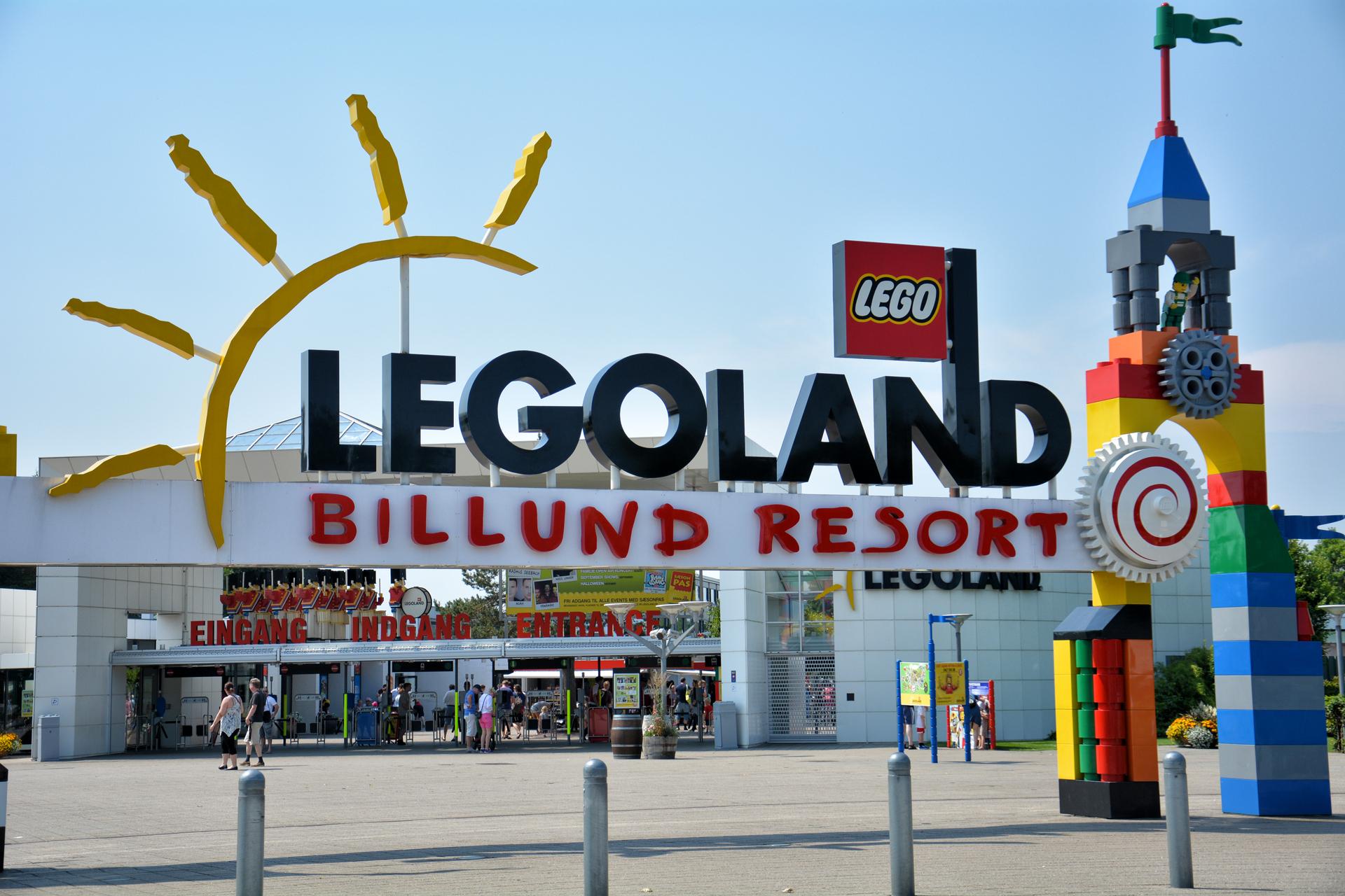 Legoland - Billund - atrakcje turystyczne Danii