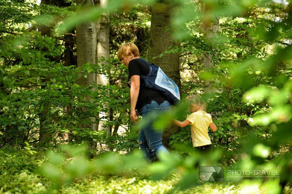 Szlaki i atrakcje turystyczne Gór Sowich przyjazne dzieciom. Hania i bliźniaki poznają świat. Dzieci w podróży