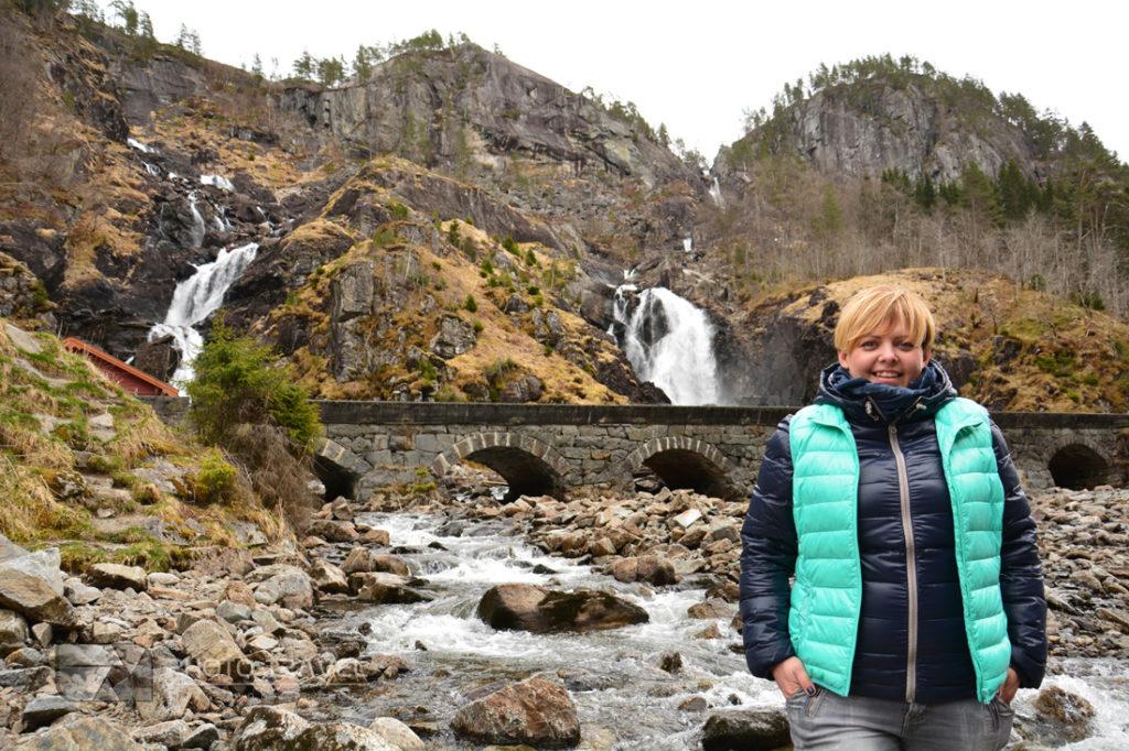 Wodospad Latefoss w Odda - informacje praktyczne, dojazd