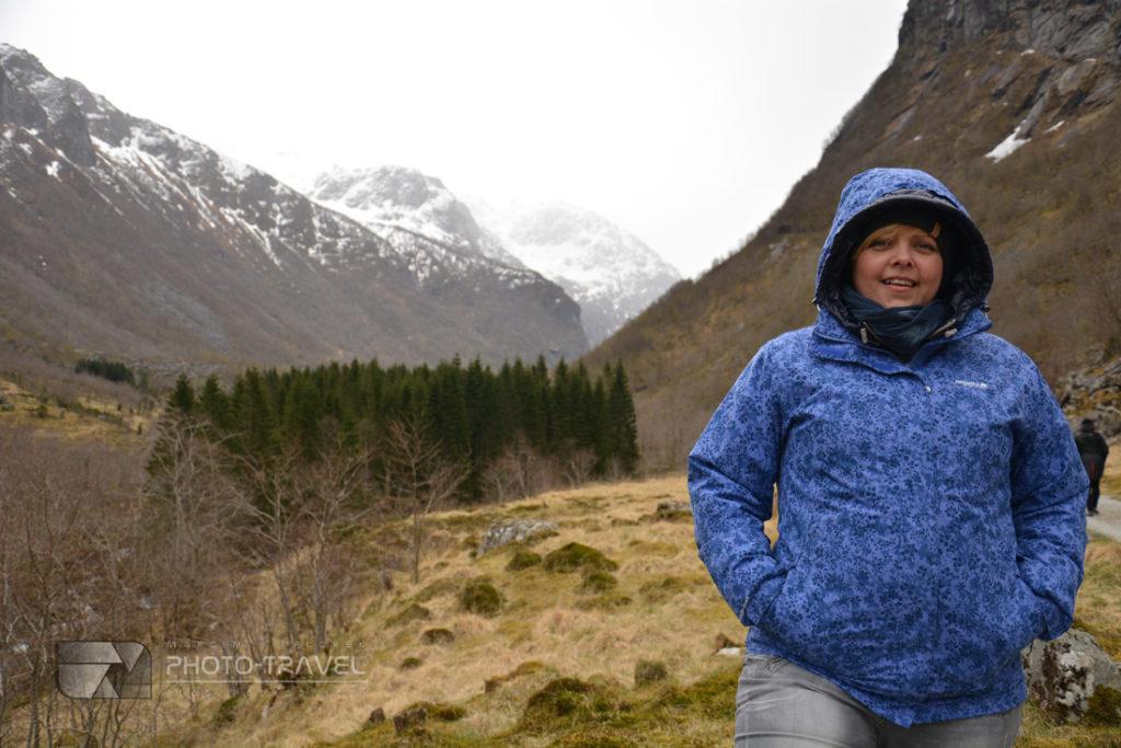 Wspaniałe widoki na lodowiec Folgefonna