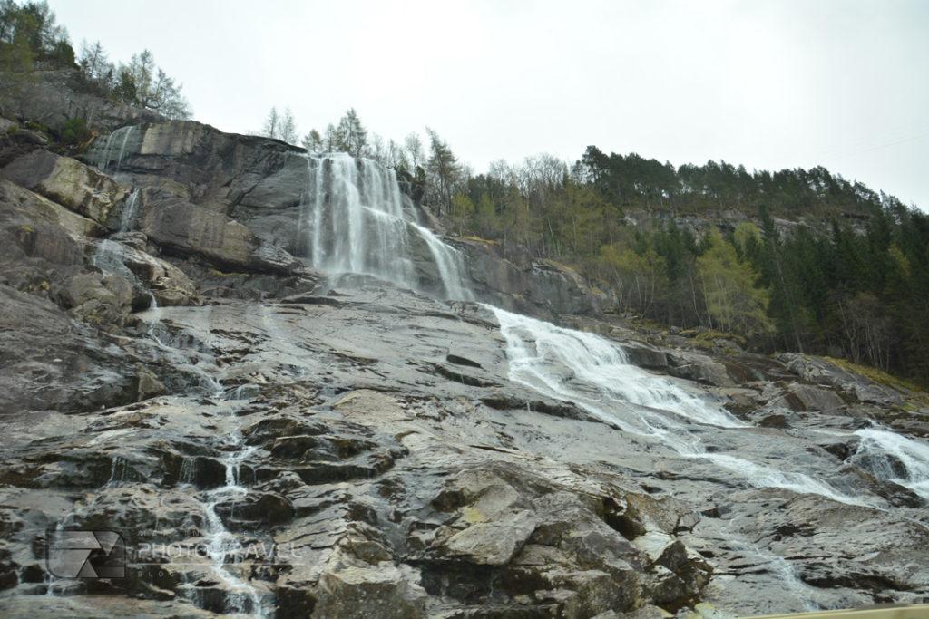 Wodospady w Norwegii