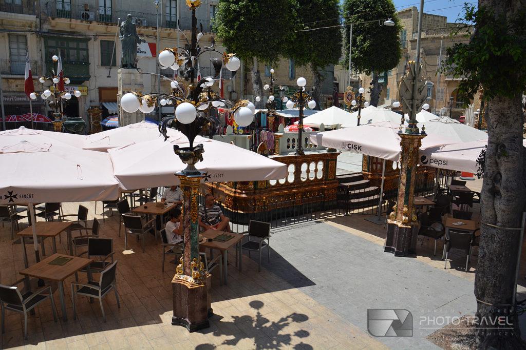 Główny rynek - It-Tokk w Victorii na Gozo