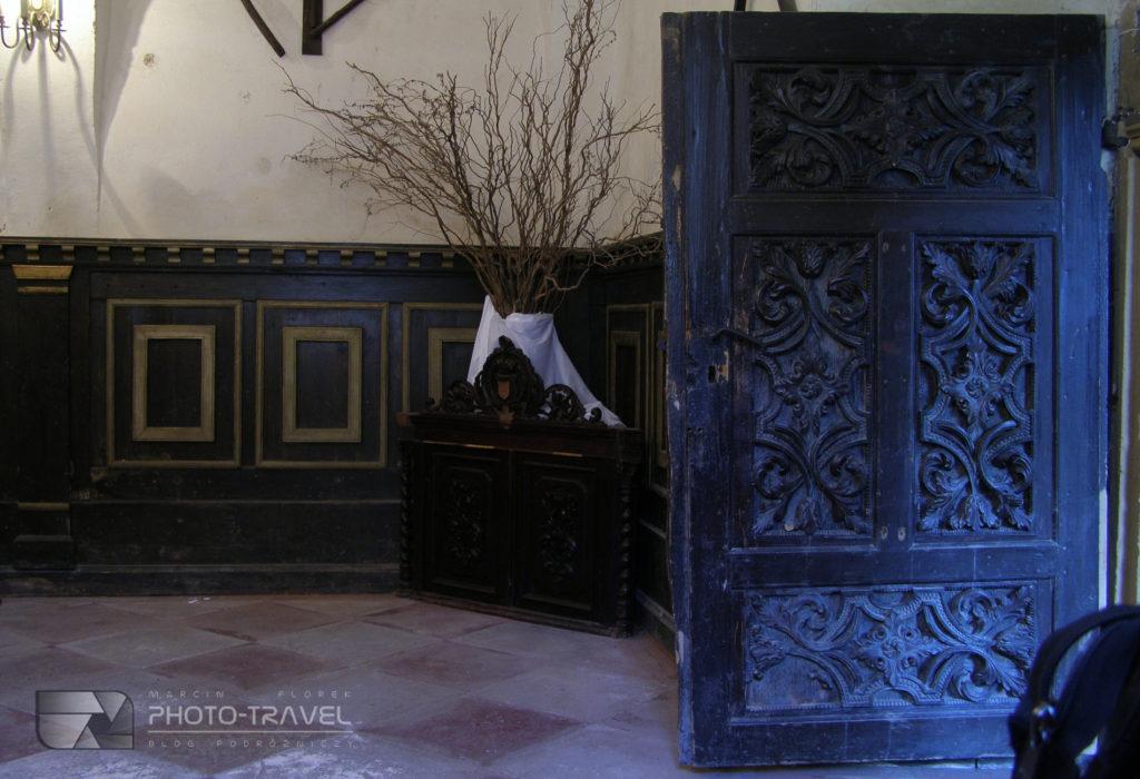 Sala w Zamku Grodno w Zagórzu Śląskim