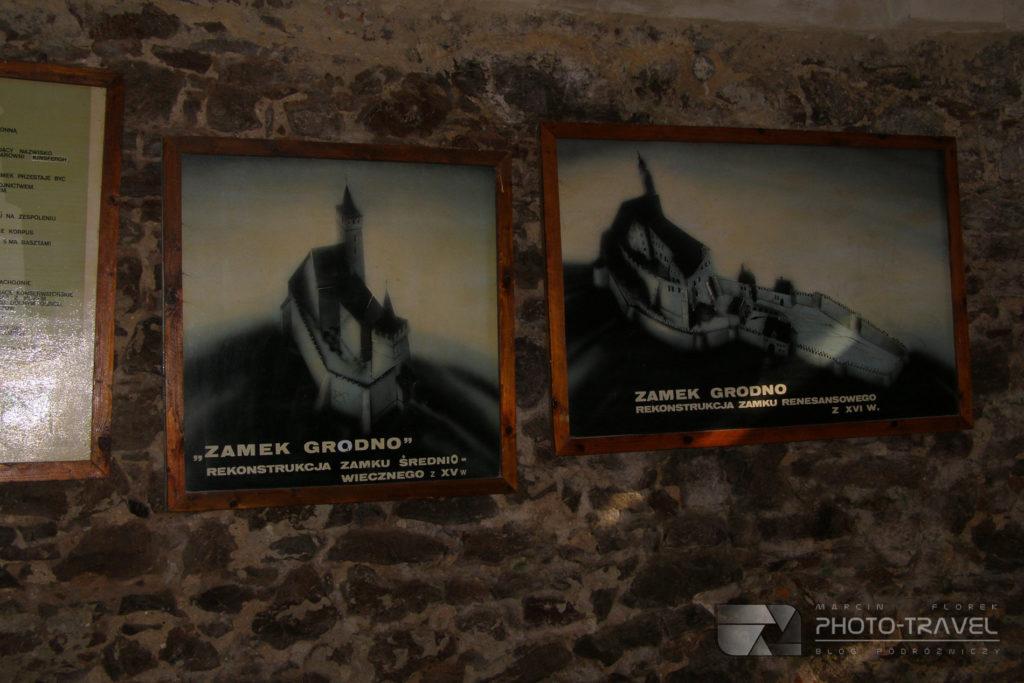 Zamek Grodno w Zagórzu Śląskim - historia zamku