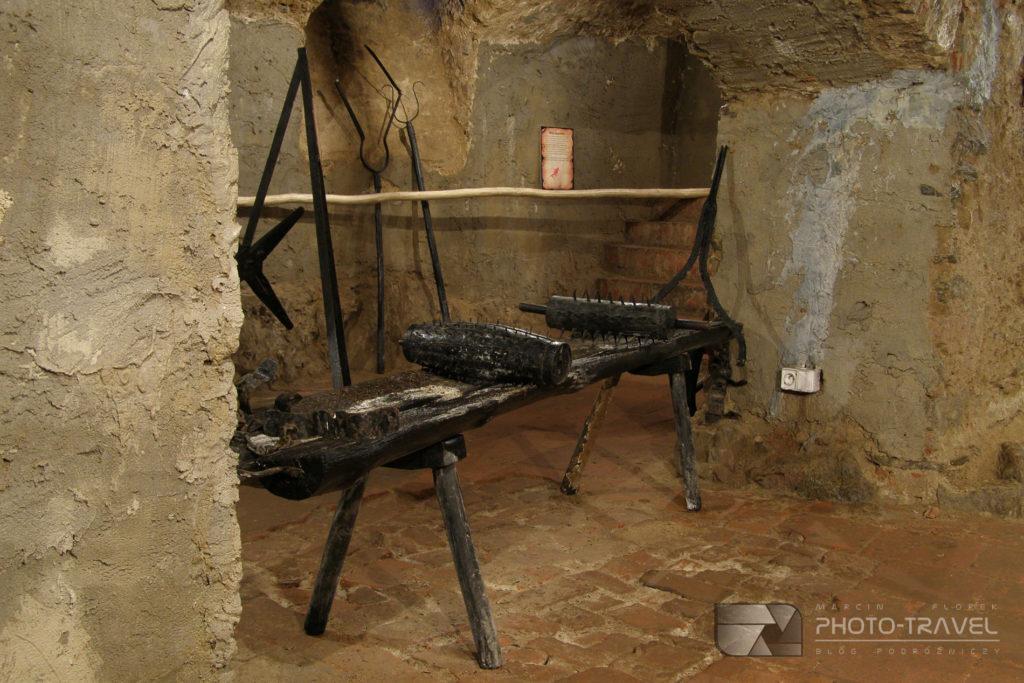 Zamek Grodno w Zagórzu Śląskim - sala tortur