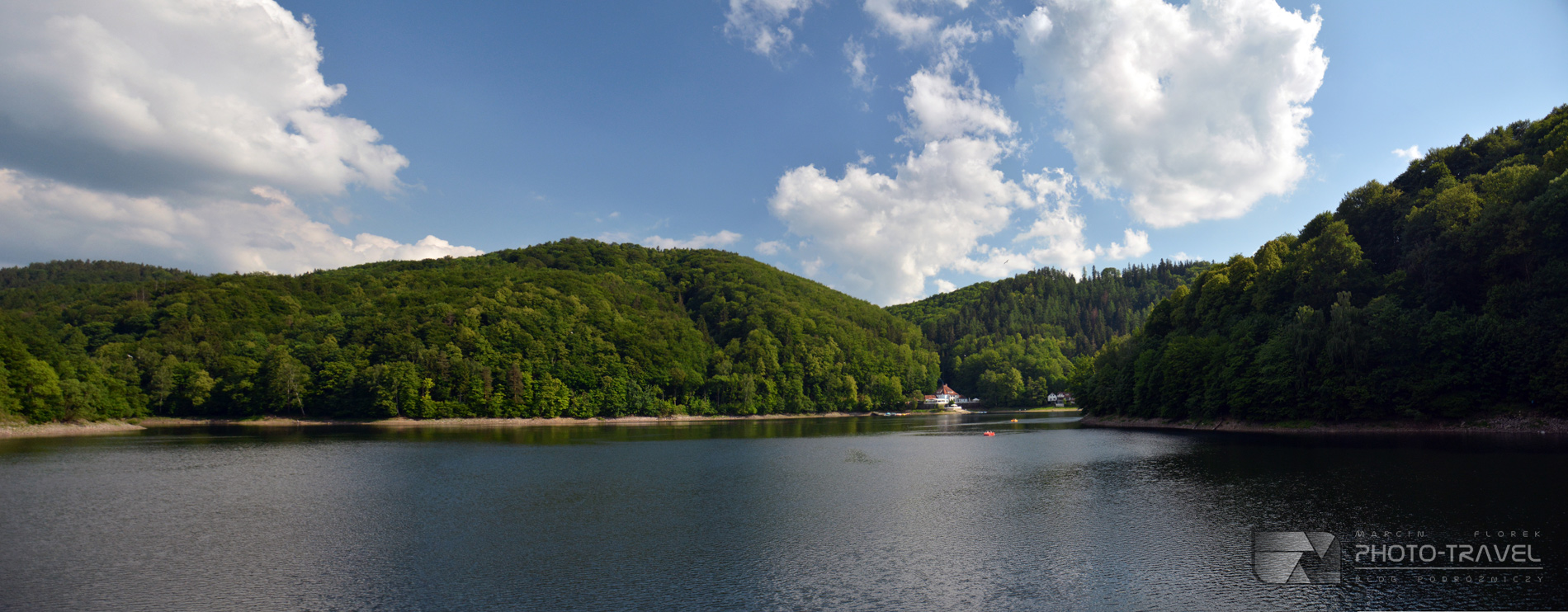 Jezioro Bystrzyckie w Zagórzu Śląskim - atrakcje Dolnego Śląska