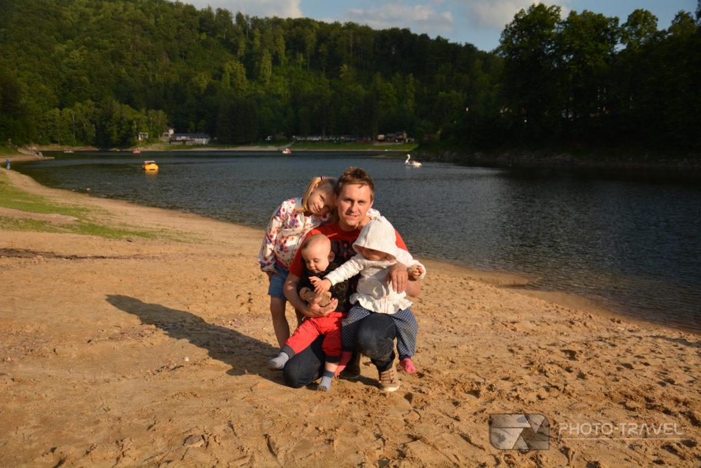 Plaża w Zagórzu Śląskim