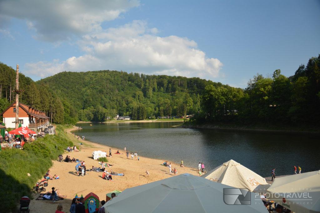 Ośrodek wypoczynkowy, restauracja i plaża w Zagórzu Śląskim