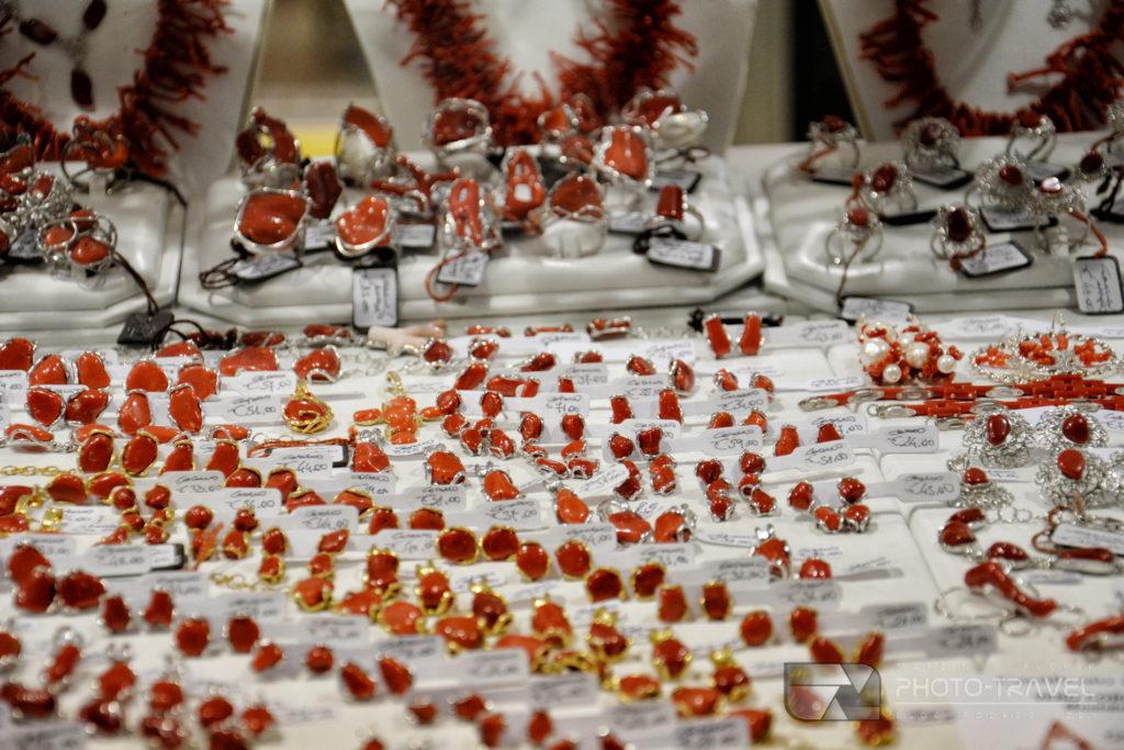 Czerwony koral z Sardynii