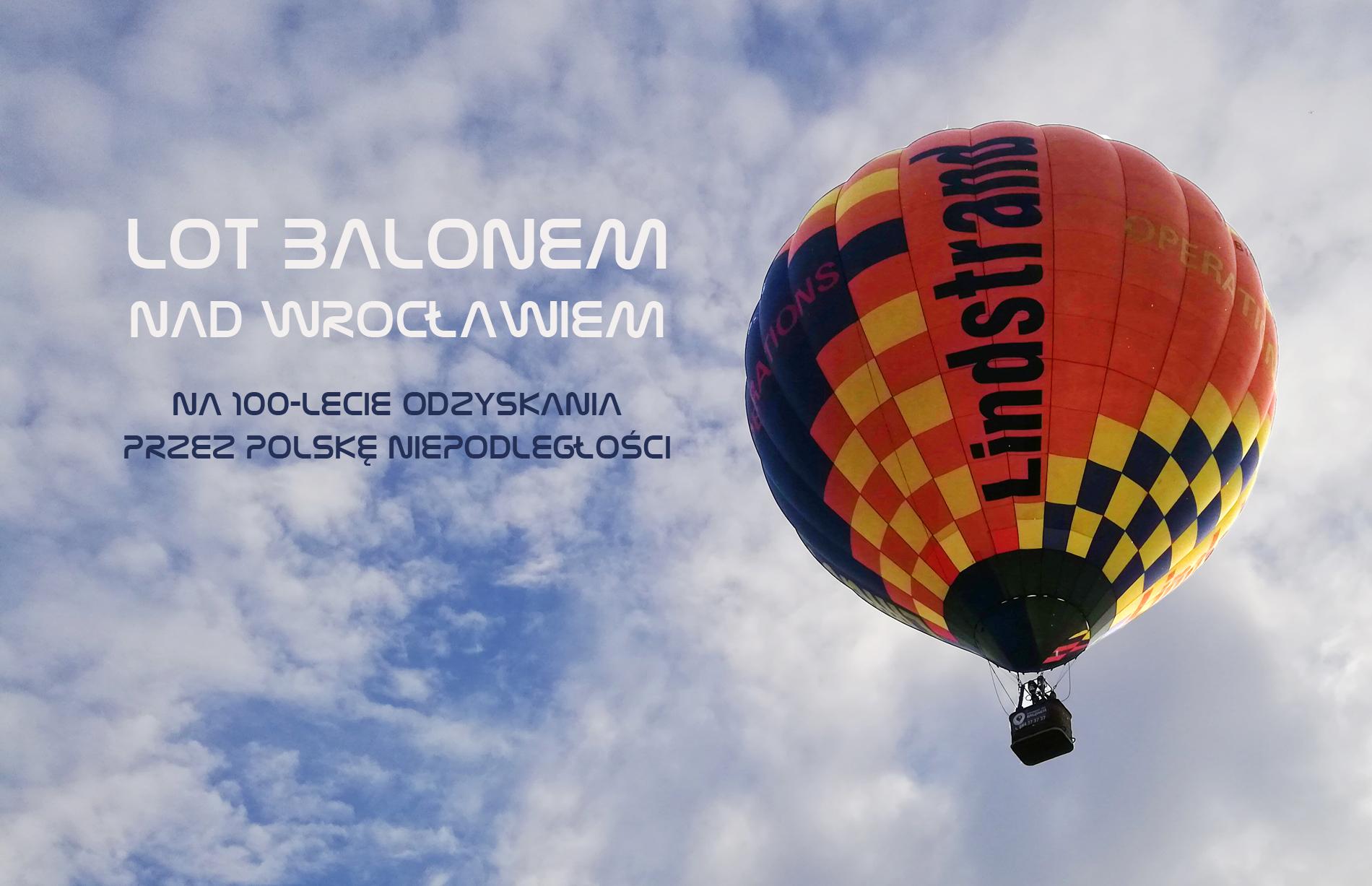 lot balonem nad Wrocławiem