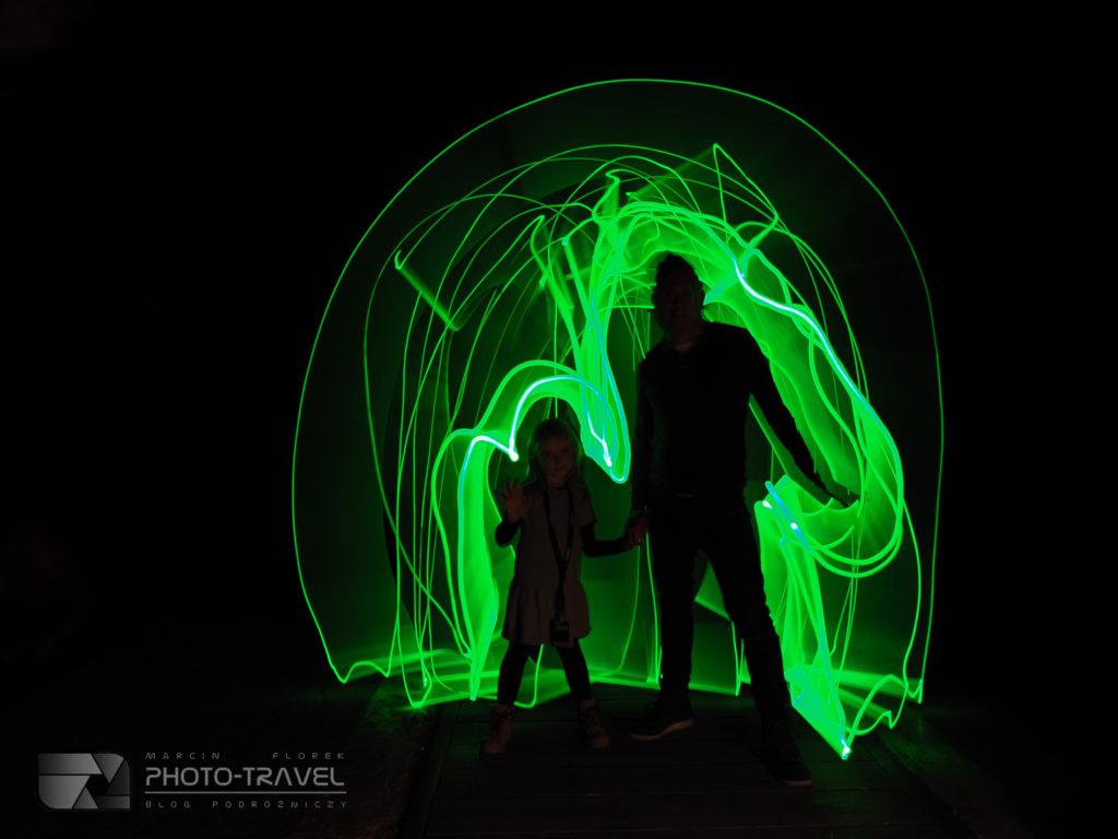 Malowanie światłem - Olympus Perspective Playground We Wrocławiu