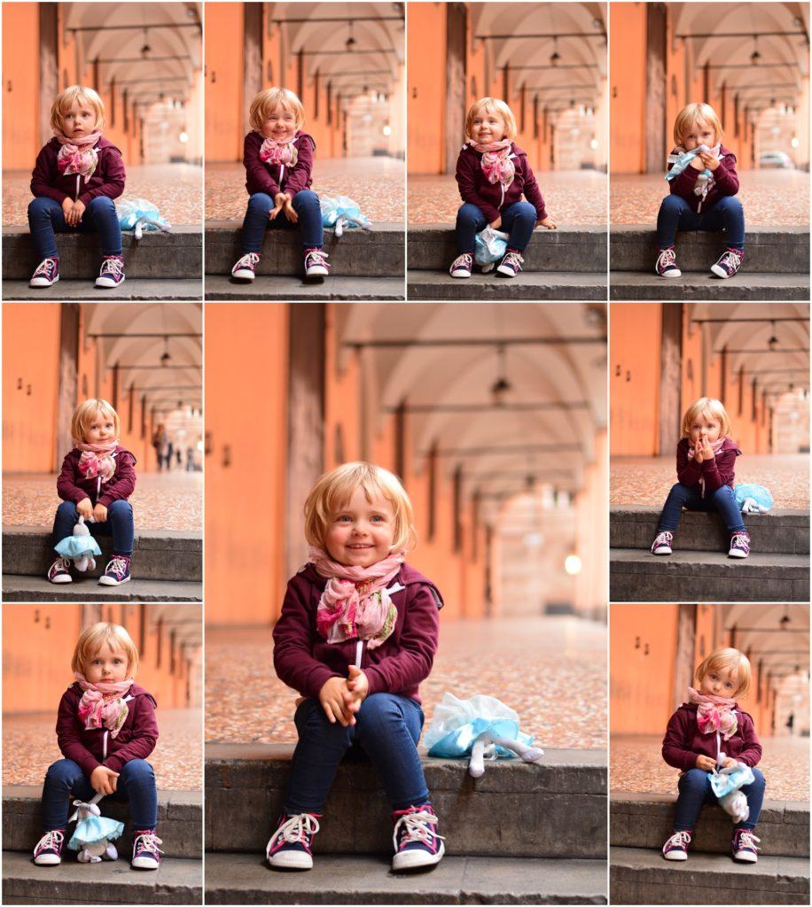 fotografowanie dzieci w trybie zdjęć seryjnych