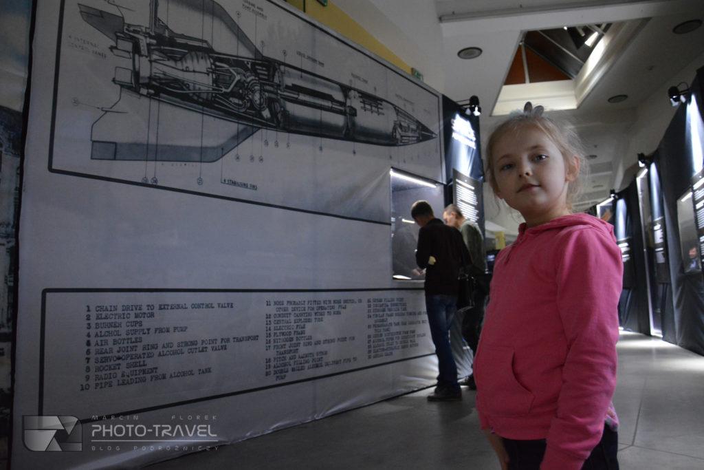 Model rakiety - Space Adventure - kosmiczna wystawa NASA we Wrocławiu
