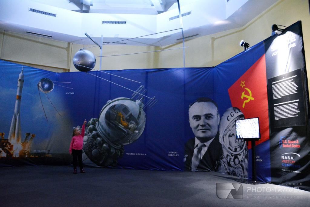 Sputnik i projekty kosmiczne ZSRR na NASA Space Adventure kosmiczna wystawa we Wrocławiu
