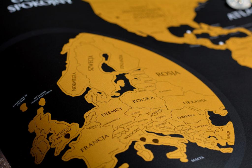 powiększona mapa zdrapka europy