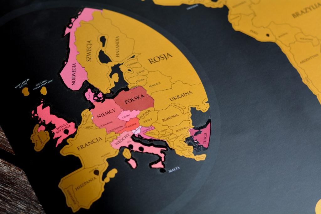 Mapa do zaznaczania miejsc