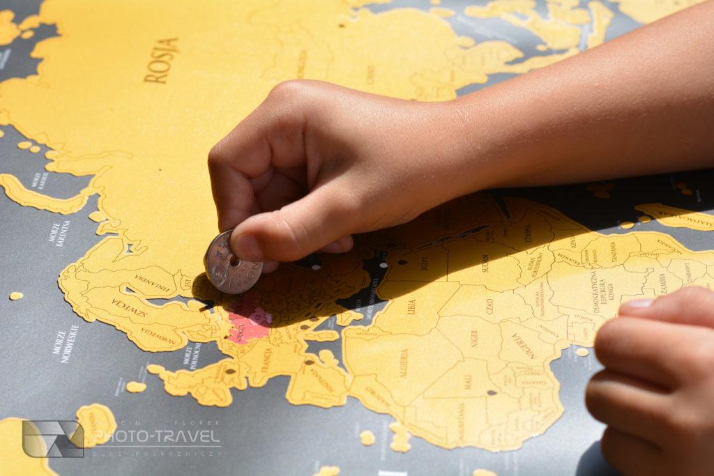 zdrapywanie mapy zdrapki