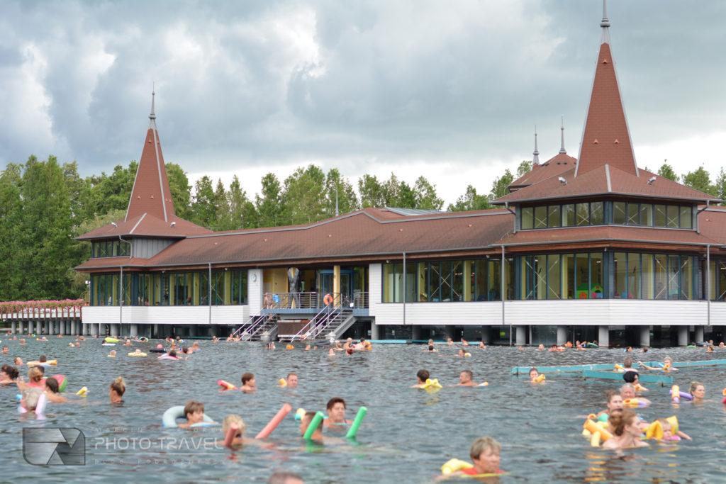 Pływanie w Heviz