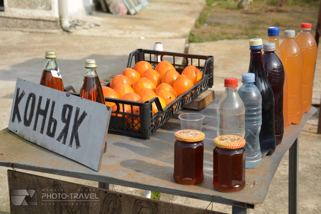 Gruzińskie alkohole - koniak