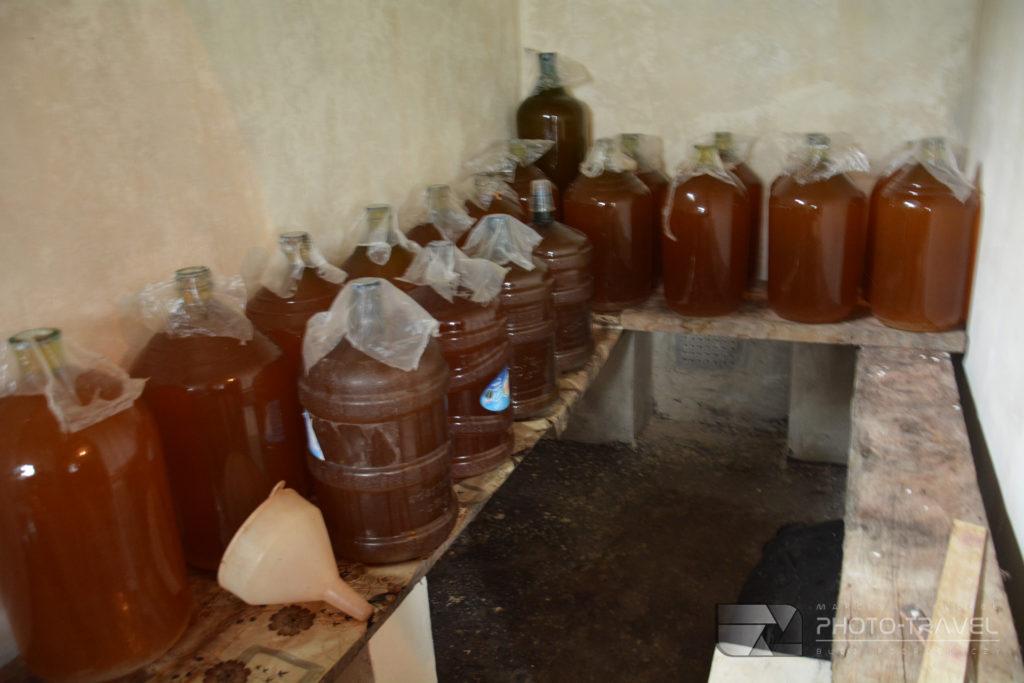 Gruzińskie wino własnej roboty