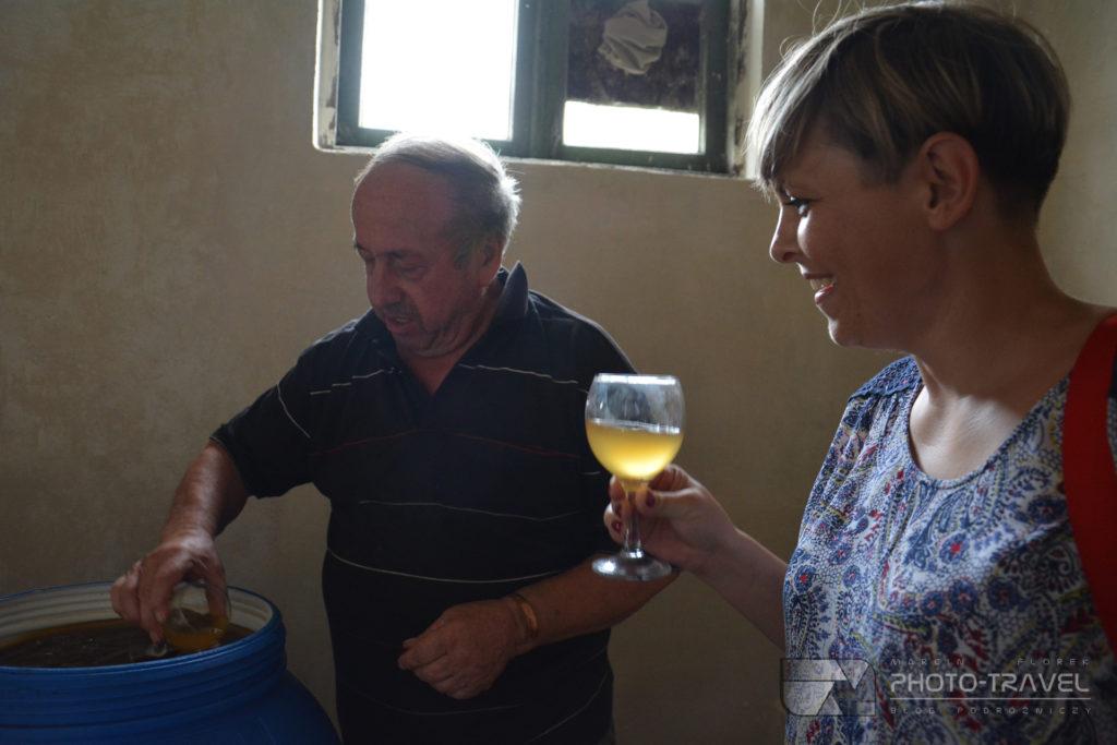 Degustacja gruzińskich win