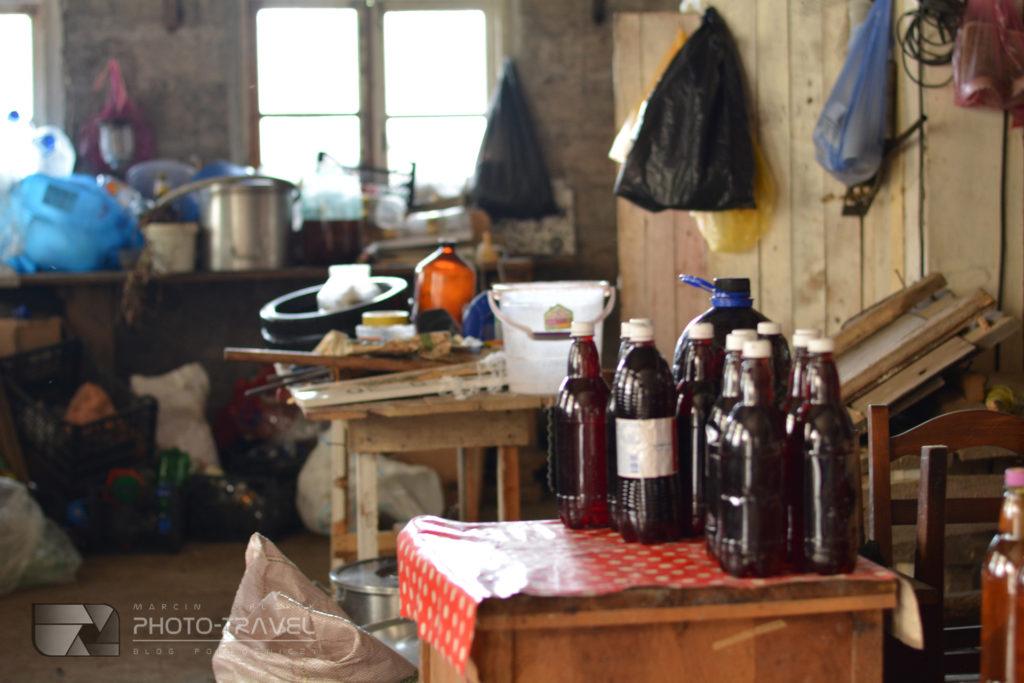 Gruzińska wytwórnia alkoholi