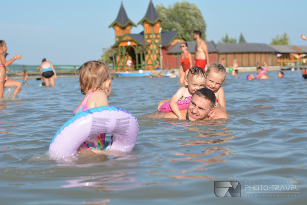 Plaża miejska w Keszthely nad Balatonem