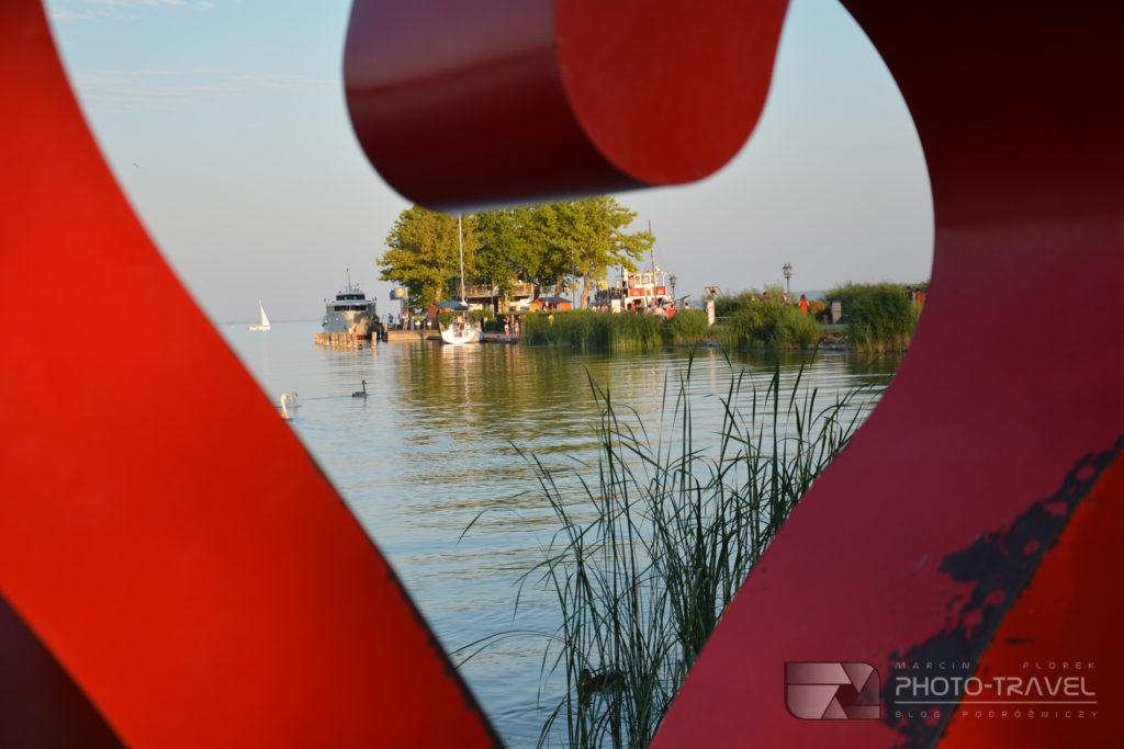 Molo w Keszthely nad Balatonem