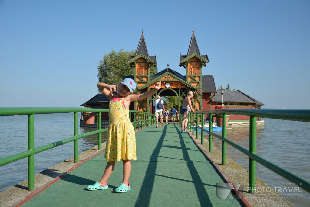 Dom na wodzie w Keszthely nad Balatonem