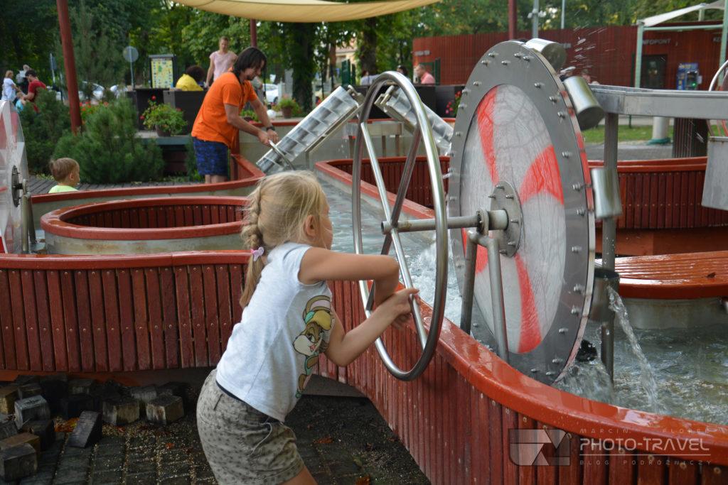 Place zabaw dla dzieci w Keszthely nad Balatonem