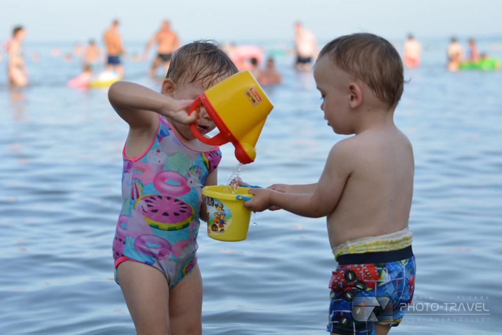 Plaże dla dzieci w Kaszthely
