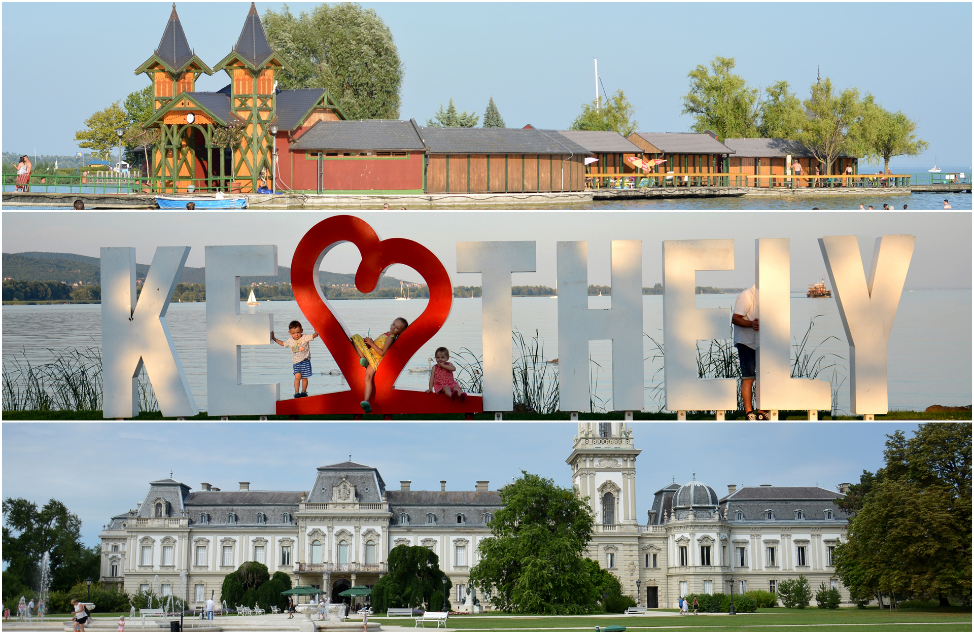 Keszthely – atrakcje, plaże, noclegi – Wakacje z dziećmi nad Balatonem