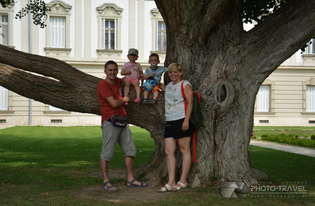 Pałac rodziny Festeticsów z dziećmi