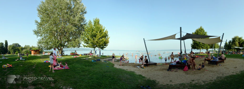 Płatne plaże nad Balatonem
