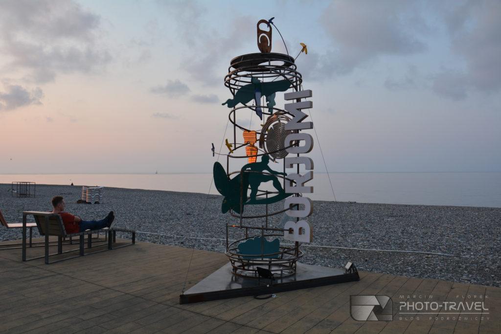 Park cudów w Batumi - rzeźby