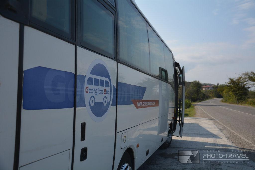 Georgian Bus z Kutaisi do Batumi
