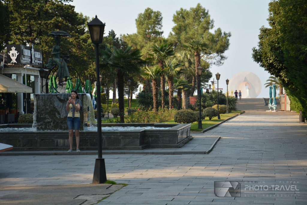 Promenada w Batumi