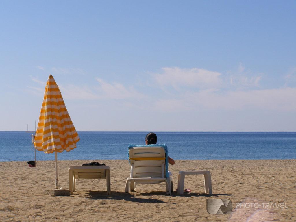 plaża w Oba Turcja