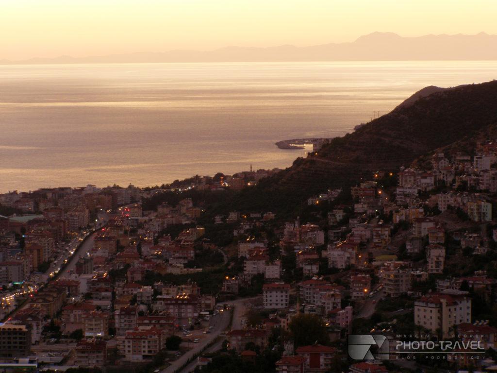 Panorama miasta z Seyir Terasi