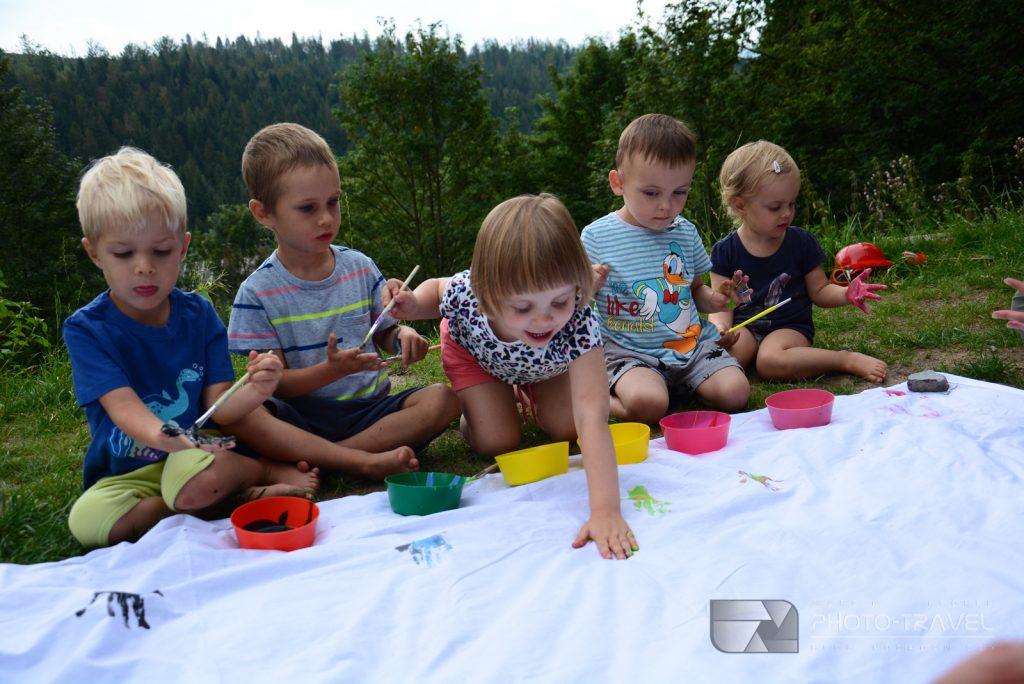 Leśna Odyseja w Beskidach | Obóz dla rodziców z dziećmi w schronisku Przysłop pod Baranią Górą