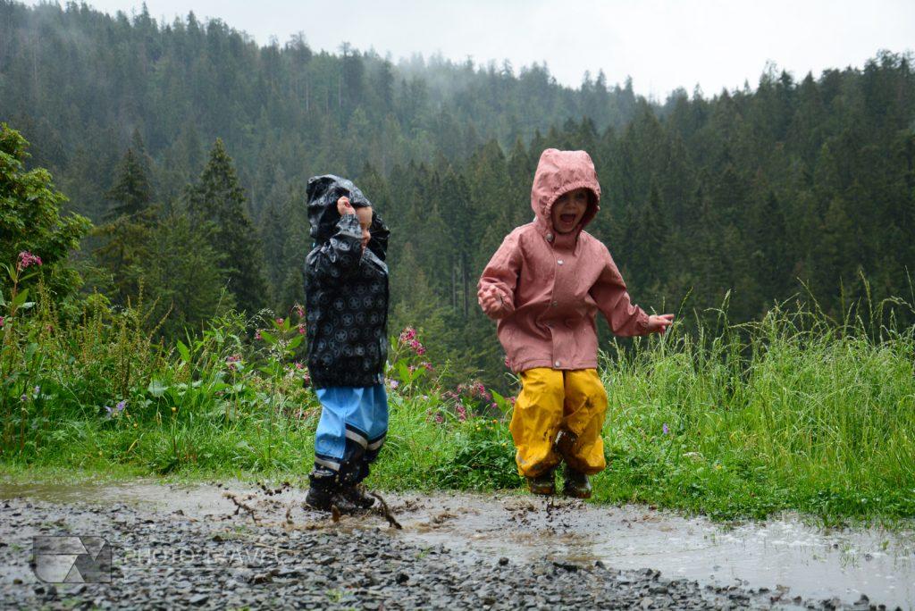 Obóz dla dzieci w górach