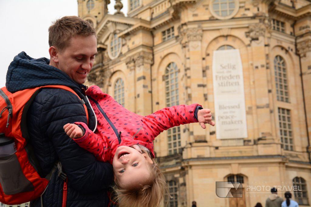 Drezno na weekend z dziećmi - Kościół Marii Panny (Frauenkirche)
