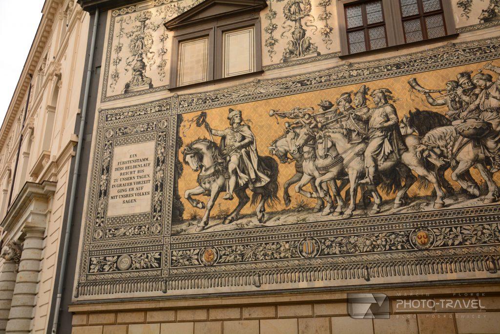 Porcelanowy obraz w Dreźnie