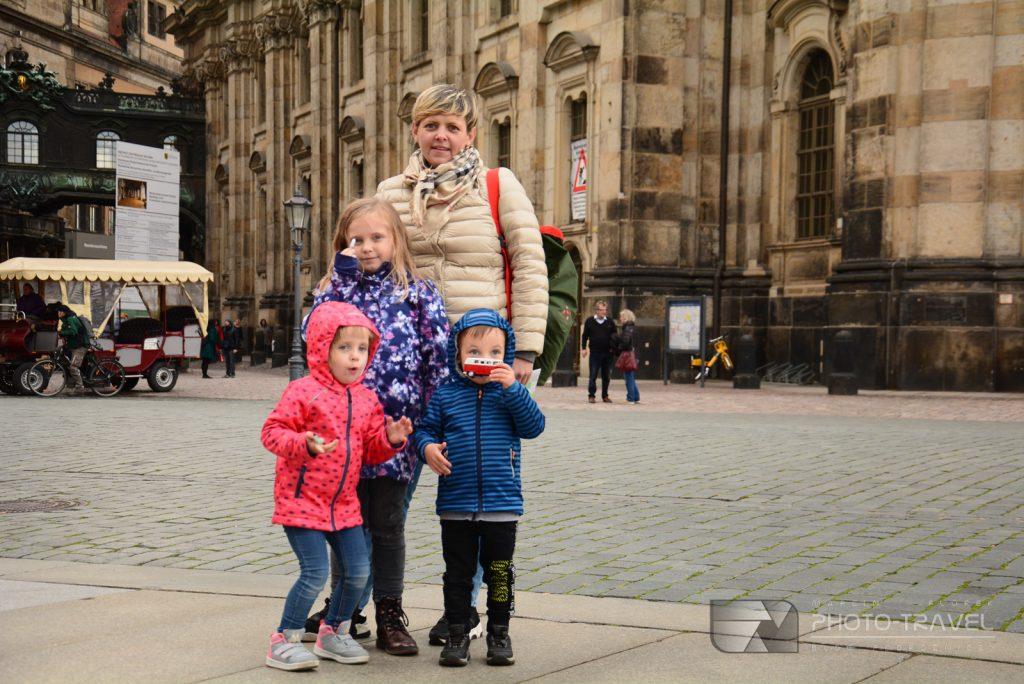 Zwiedzanie Drezna z dziećmi