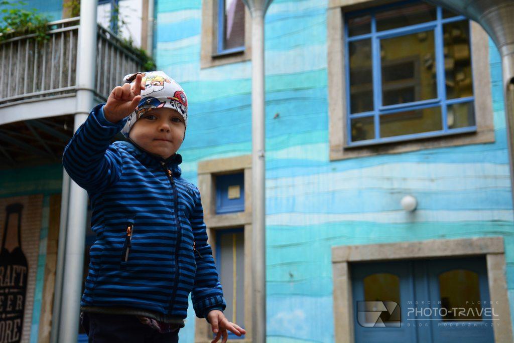 Niebieska kamienica w Dreźnie - atrakcje Drezna na weekend